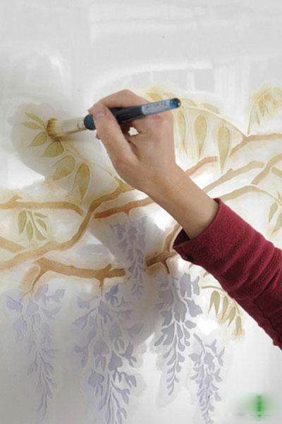 دیوارهای تان را با نقاشی های ساده و ارزان نقاشی کنید