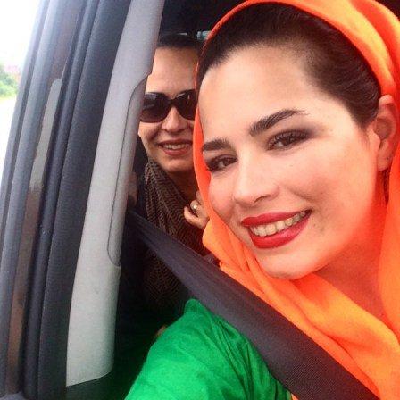 عکس ملیکا شریفی نیا ومادرش آزیتا حاجیان