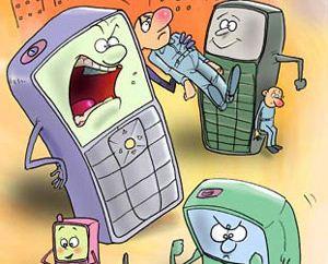 اشعار طنز تلفن همراه و تبلت و شبکه های مجازی