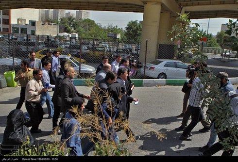 عکس های ورود مهدی هاشمی به زندان