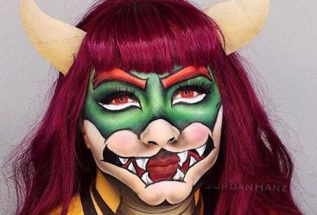 جشنواره عجیب آرایش ترسناک