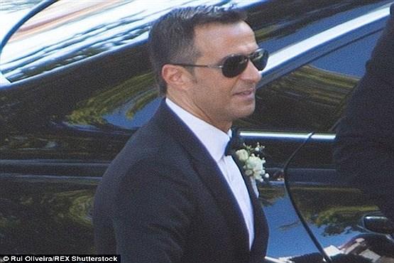 رونالدو و ستاره های فوتبال در مراسم ازدواج خورخه مندس