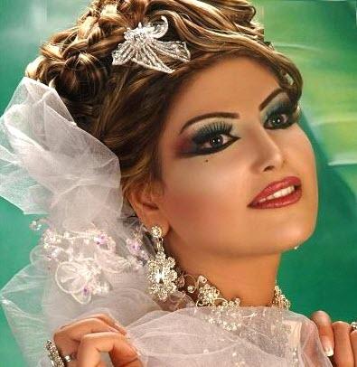 مدل آرایش خلیجی عروس - سری سوم