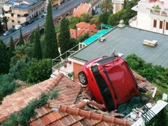 مسخره ترین تصادف های جهان
