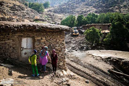 تصاویر تکان دهنده از روستاهای مناطق محروم سردشت