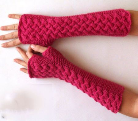 مدل ساق دست های بسیار زیبای بافتنی ویژه زمستان 94