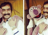 عکس سجاد افشاریان و جناب خان و نظرش درباره اجرایش در خندوانه