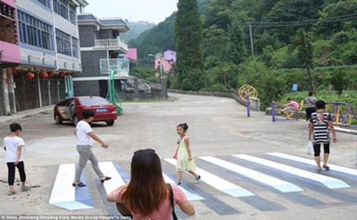تصاویر زیبا از رنگارنگ ترین روستا در جهان