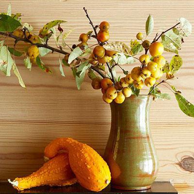 ایده های بسیار زیبا برای تزیینات دکور پاییزی