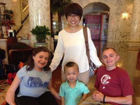 کار جالب این زوج کوتوله آمریکایی در چین سوژه رسانه ها شد