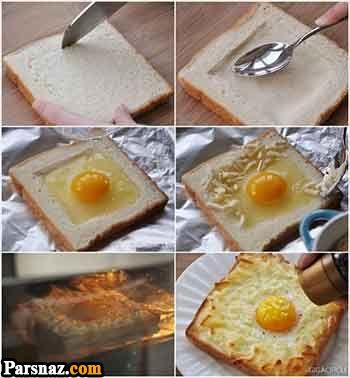 زیباترین نمونه های نیمرو | آموزش تزیین زیبای تخم مرغ نیمرو