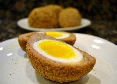 طرز تهیه تخم مرغ اسکاچ