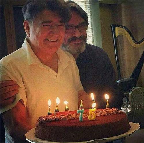 تصویری دیدنی از کیک تولد 75 سالگی محمدرضا شجریان