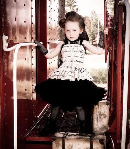 مدل پیراهن مجلسی برای دختر بچه های 3 تا 7 ساله