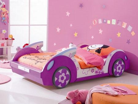 دکوراسیون تخت خواب بچه گانه 2015