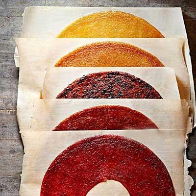 طرز تهیه لواشک میوه ای برای خوشمزه و آسان