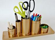 آموزش ساخت جای لوازم التحریر بازیافتی