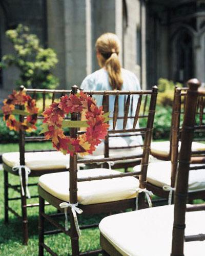 چگونه مراسم عروسیتان را پاییزی برگزار کنیم؟