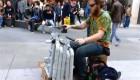 خلاقیت در ساخت موسیقی با PVC و کفش