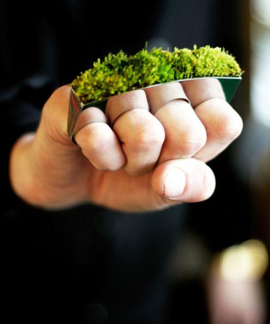انگشترهای عجیب و جالب با نگین های دیدنی