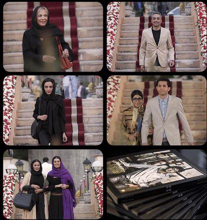حضور بازیگران در رونمایی از مجله تبار
