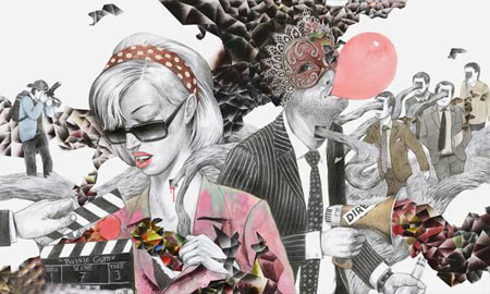 نقاشی های هنری خلاقانه و پر محتوی