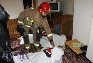 مرگ مادر ۳۵ ساله و دختر۱۲ ساله را گاز گرفتگی در داخل حمام