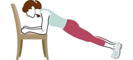 آموزش چند حرکت ورزشی با صندلی برای تناسب اندام