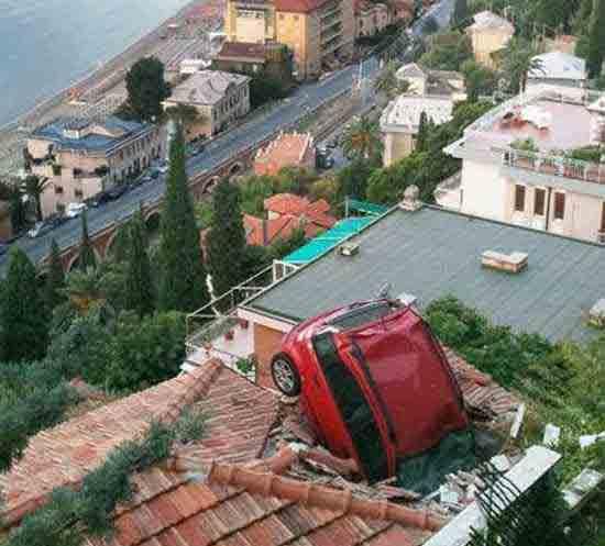 مخرب ترین و عجیب ترین تصادف های دنیا