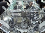 رونمایی شرکت زد اف از ماشین عجیب و جالب با بدنه شفاف