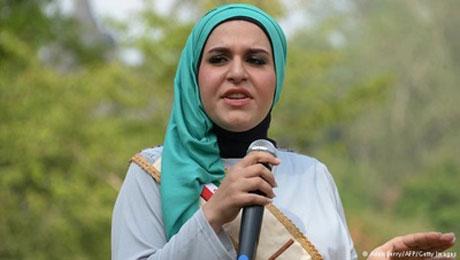 دختر ایرانی در فینال مسابقات دختر شایسته مسلمان 2014 +عکس