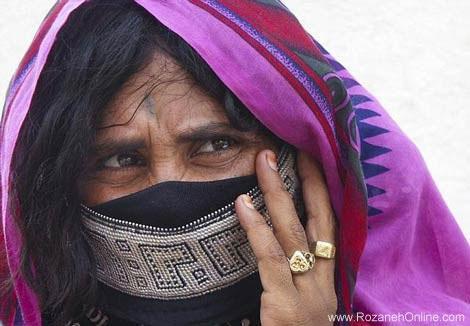 به تصویر کشیدن زندگی بسیار سخت زنان بادیه نشین