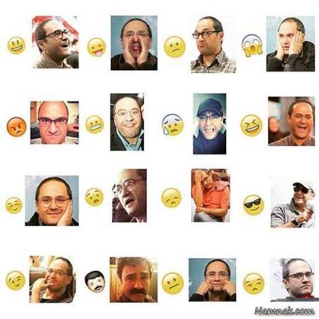 استیکر تلگرام خنده دار