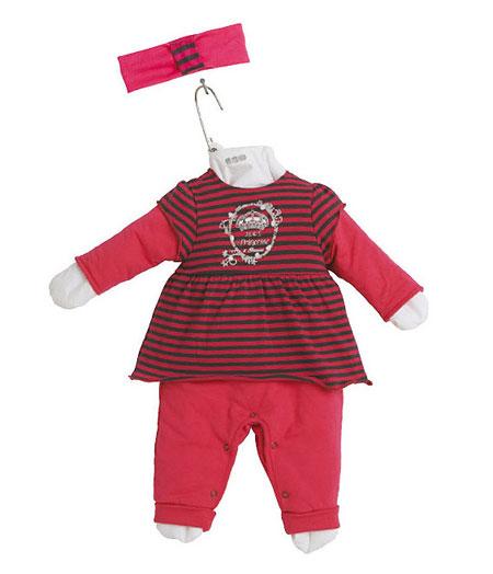 مدل لباس نوزادی ۳pommesتیپ پاییزی
