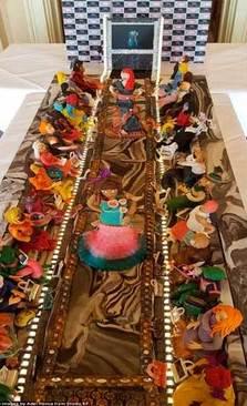 گرانترین و غیر معمول ترین کیک دنیا از نگاه گینس