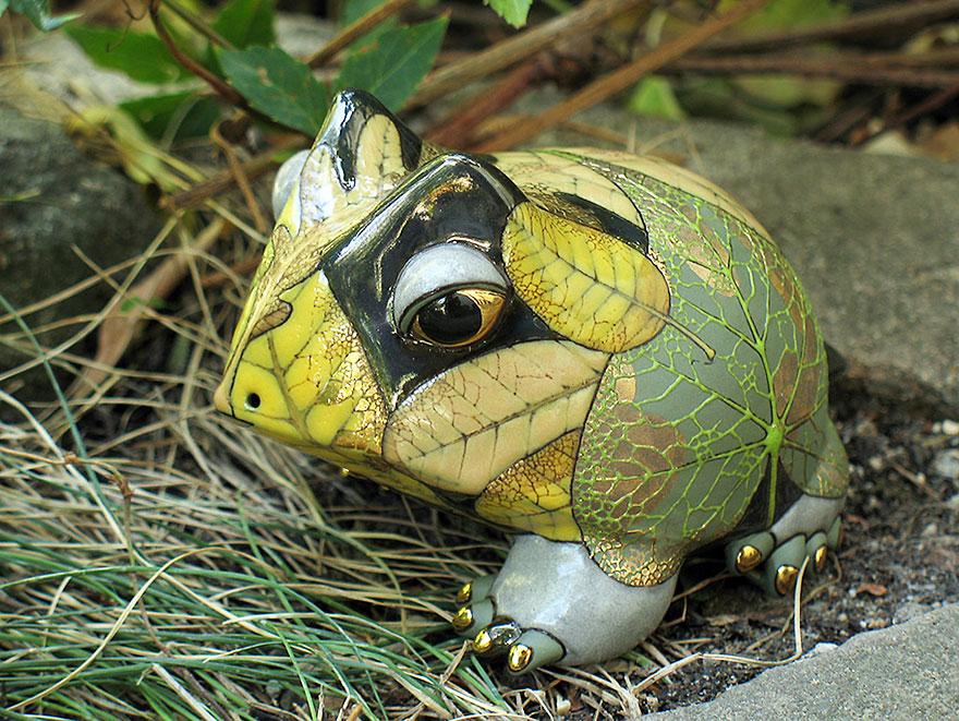 مجسمه حیوانات سنگی بسیار زیبا و عجیب و غریب