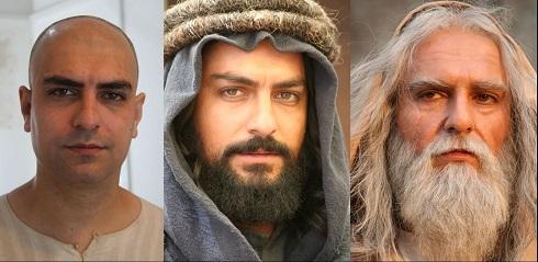 گریم های فوق العاده طبیعی و سخت بازیگران فیلم محمد رسول الله