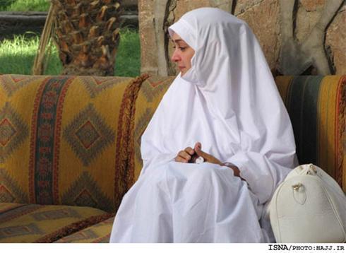 عکسهای بازیگران زیبای زن ایرانی در حج