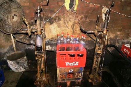 انتشار تصاویر محل تولید نوشابه کوکاکولا تحت لیسانس آلمان