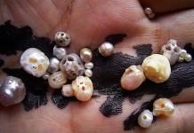 جواهرات خلیجی با طرح جمجمه