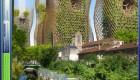 تصاویر جالب از آسمان خراش های سبز در طرح آینده نگر پاریس