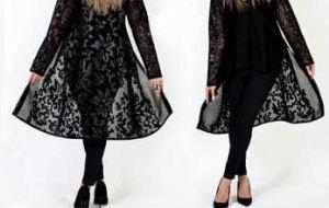 برخورد شدید با مانتوهای زننده شیشه ای دختران ایرانی