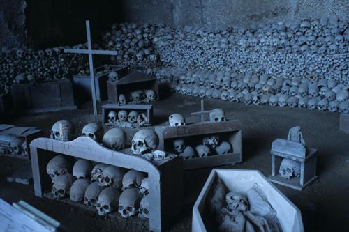 تصاویر ترسناک از شهر مردگان در روسیه