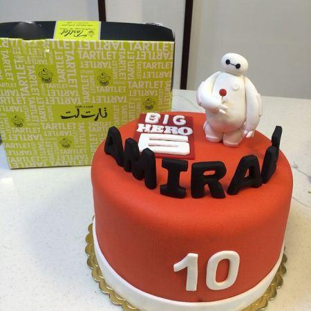 کیک تولد های انیمیشنی ایرانی