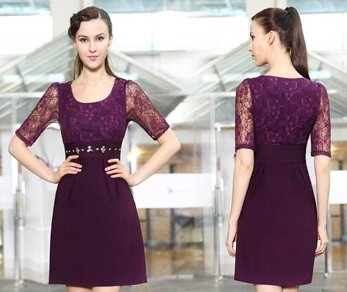 مدل لباس گیپور مجلسی و بلند 2015