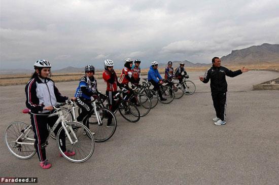دختران قهرمان دوچرخهسوار در افغانستان