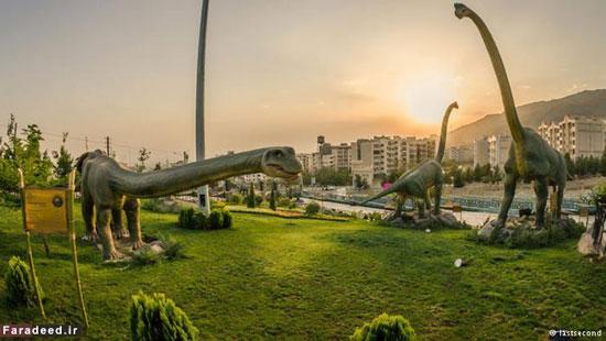 تصاویر ژوراسیک در پارک تهران