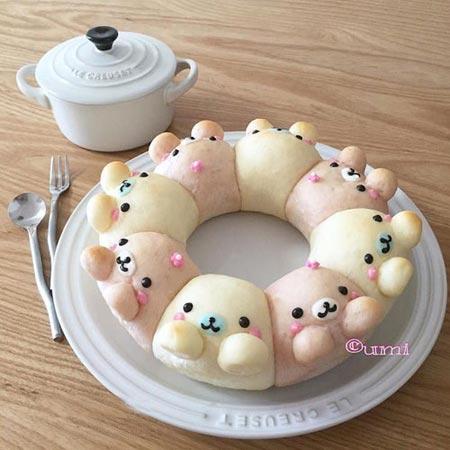 خوشگل ترین نان فانتزی های دنیا
