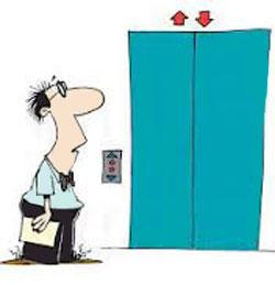 رفتارهایی مسخره و طنز و سر کاری در آسانسور