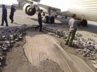 وقتی خلاقیت به باند یک فرودگاه گند میزند